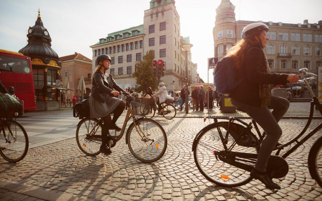 Copenhaghe: Las Bicicletas superan en número a los coches por primera vez.